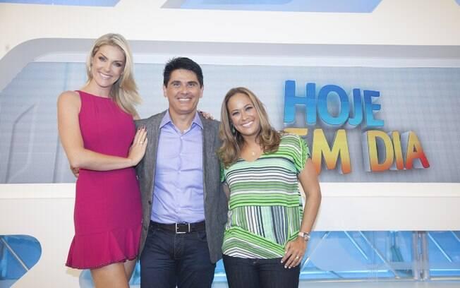 Ana Hickmann, César Filho e Renata Alves