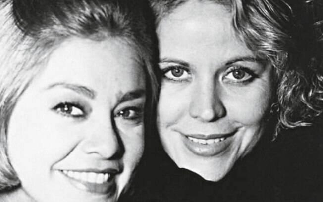 Claudete Troiano ao lado de Ione Borges, parceria que durou 19 anos e as consagrou como as apresentadoras de 'donas de casa' dos anos 1980