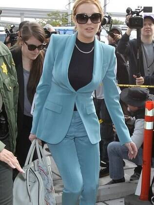 Além de livre, Lindsay Lohan ganhou visto de trabalho para filmar no Canadá