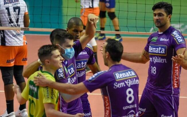 Superliga: Vôlei Renata conhece datas da semifinal