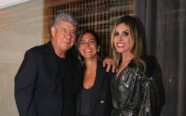 Joel Santana, Carol Sampaio e Adry Santos