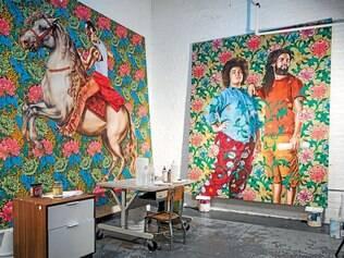 """Objetivo. """"Estou interessado na evolução interna do meu pensamento, não na evolução da minha pintura"""", diz Wiley"""