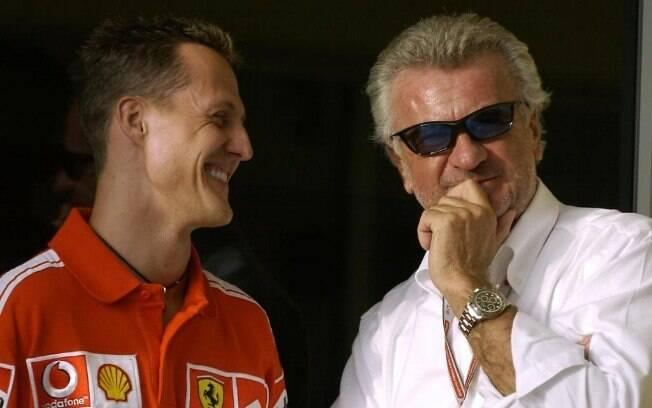 Willi Weber estava presente em todos os sete títulos de Michael Schumacher na Fórmula 1
