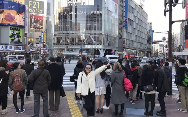 Bruna Nakano no Bairro Shibuya