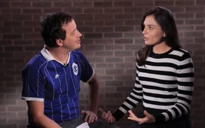 Monica Iozzi fala sobre política e passado com Rafael Cortez