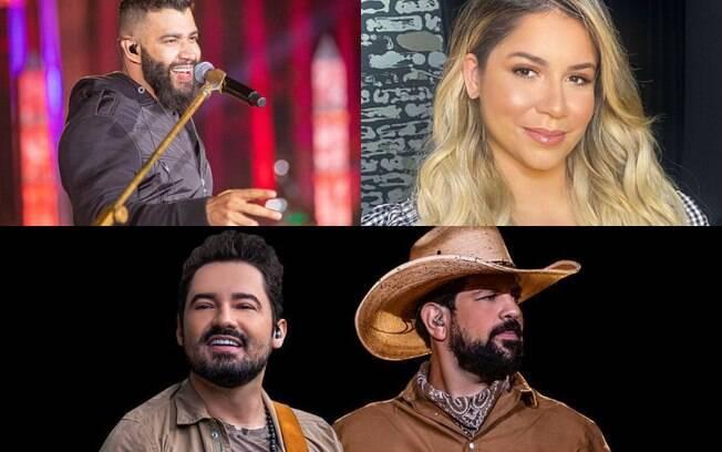 Gusttavo Lima, Marília Mendonça e Fernando e Sorocaba fazem lives neste final de semana