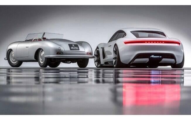 Os planos da Porsche envolvem colocar o Mission E em produção até o ano de 2020