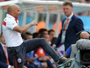 Apesar da derrota, treinador gostou da atuação da equipe contra a Holanda, no Itaquerão