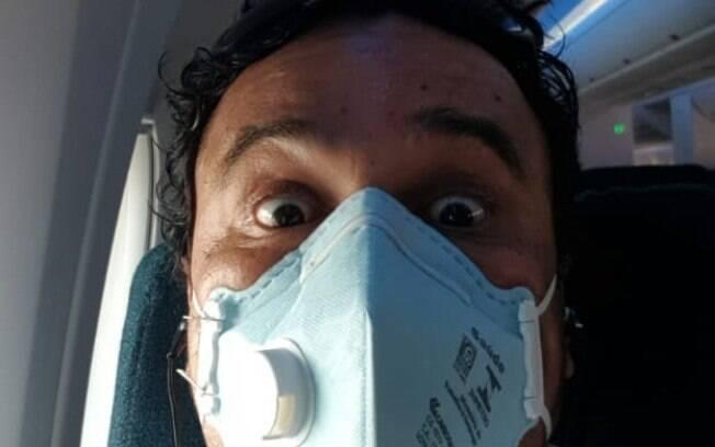 Israel relata que alguns dos passageiros no voo de ida não usavam máscaras