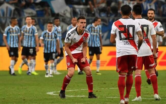 Grêmio perdeu do River Plate em casa e foi até a Conmebol para pedir anulação do jogo