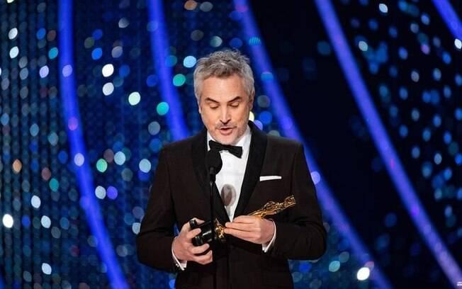 Alfonso Cuarón ganha o Oscar de Direção, seu segundo prêmio na noite por