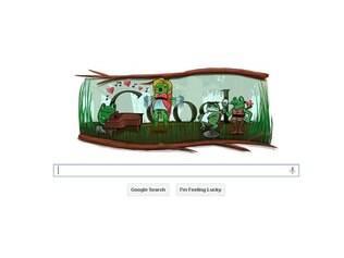 Logotipo do Google nesta quarta-feira (29)