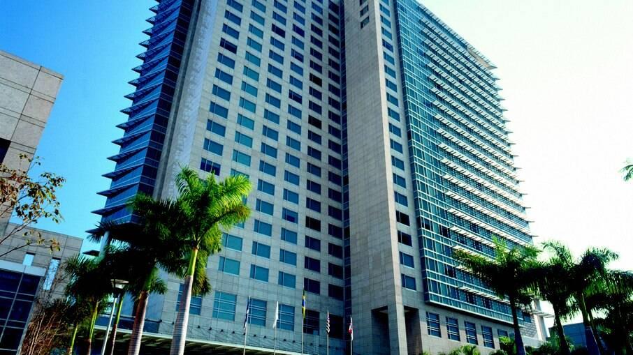 Fachada do hotel Grand Hyatt São Paulo