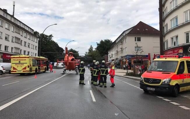 Uma pessoa foi morta e outras acabaram feridas em um ataque com faca em um supermercado na Alemanha