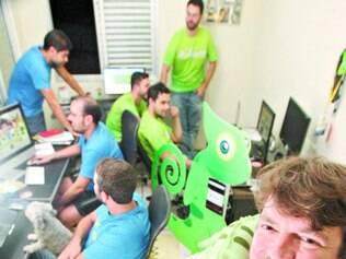 Para aparecer. Ivan Guimarães, idealizador da Tião Camaleão, quer mostrar a cara da sua start-up no Goal Belo 2014!