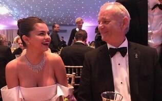 Bill Murray admite preconceito com Selena Gomez antes de conhecê-la