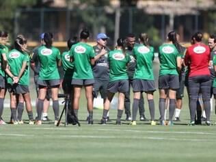 Meninas voltaram a treinar antes do torneio português