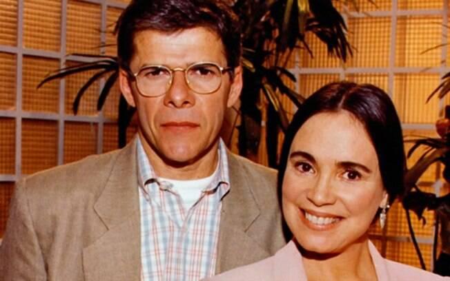 José Mayer e Regina Duarte em