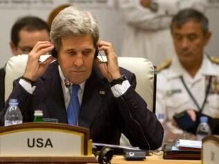John Kerry foi alvo do serviço secreto israelense no ano passado