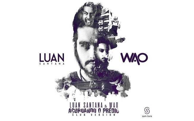 """Luan Santana lança versão eletrônica de """"Acordando o Prédio"""""""