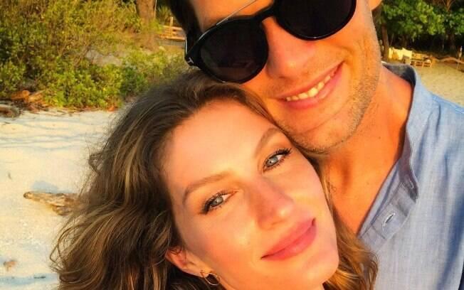 Gisele Bündchen demonstra todo o seu amor para o marido Tom Brady nesse Dia dos Namorados!