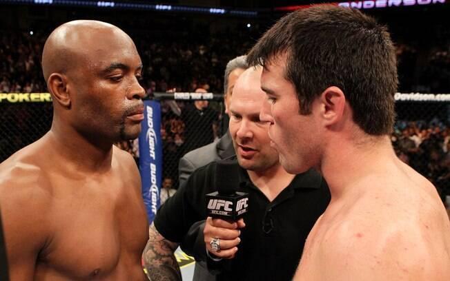 Revanche entre Anderson Silva e Chael Sonnen protagonizará o UFC 148