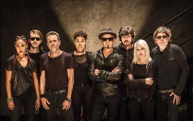 Banda Titãs apresenta seu novo álbum de trabalho