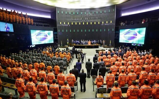 No início do ano, a Câmara dos Deputados realizou uma homenagem às vítimas de Brumadinho e aos bombeiros que atuaram na tragédia