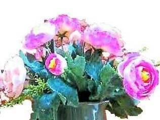 O bule (R$ 44) serviu de aparador para colocar rosas e enfeitar ambientes