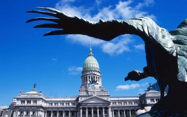 Congresso Nacional Argentino é um dos prédios visitados no city tour
