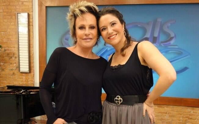 Maria Rita e Ana Maria Braga no