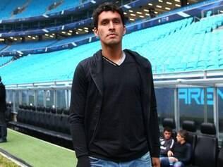 Riveros vai atuar pela primeira vez com a camisa do Grêmio