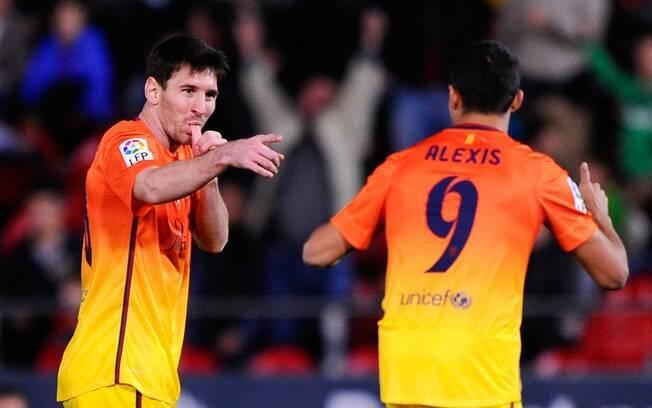 Messi está a apenas 9 nove gols do recorde  histórico de Gerd Muller