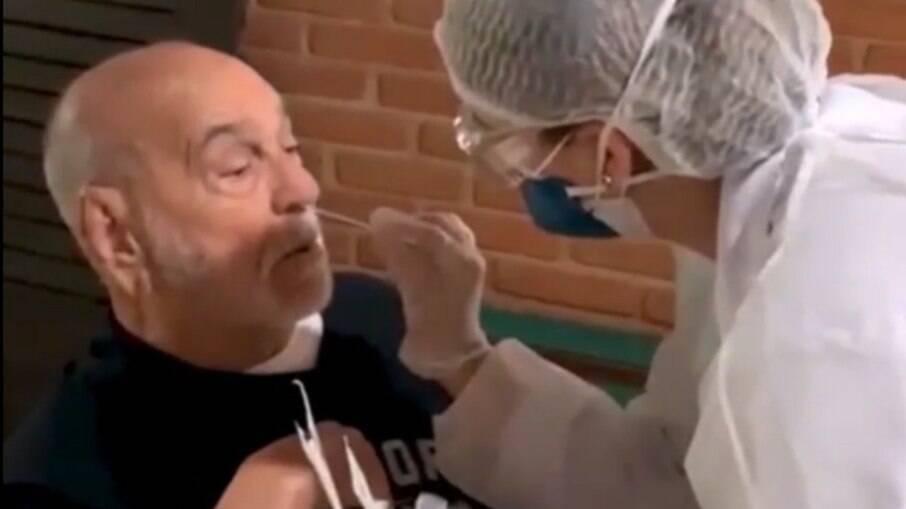 Lima Duarte volta a gravar pela primeira vez desde o início da pandemia