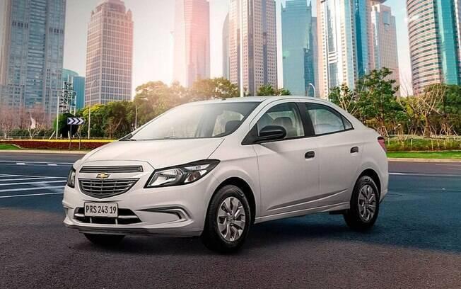 Chevrolet Prisma Joy é um dos sedãs compactos mais bem-sucedidos do Brasil