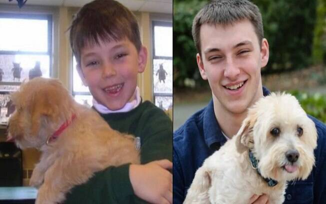 Os melhores antes e depois com animais já postados nas redes sociais