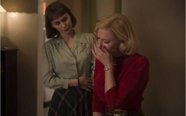 Rooney Mara e Cate Blanchett se apaixonam em