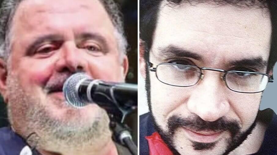 Leo Jaime e Renato Russo