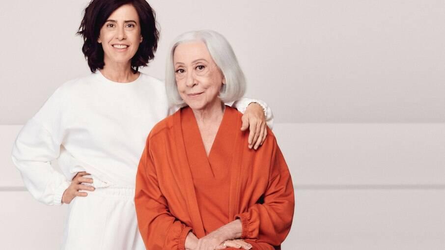 Fernanda Torres e Fernanda Montenegro trabalharam juntas durante a pandemia