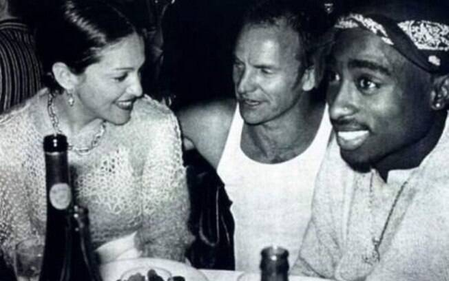 Madonna, Sting e Tupac Shakur.