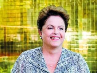 """Disposição. Dilma concedeu coletiva com direito a interpelar os repórteres com o famoso """"meu querido"""""""