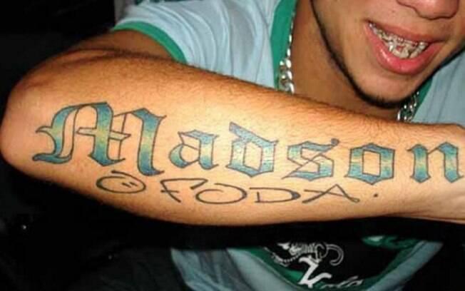 Tatuagem do meia Madson