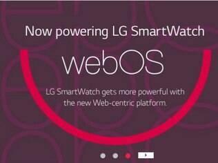 LG WebOS pode estar em relógios em breve