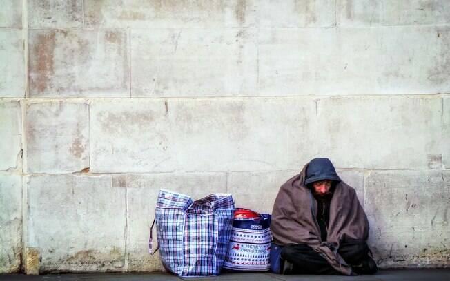 Homens recusaram convite para irem para abrigos da cidade.