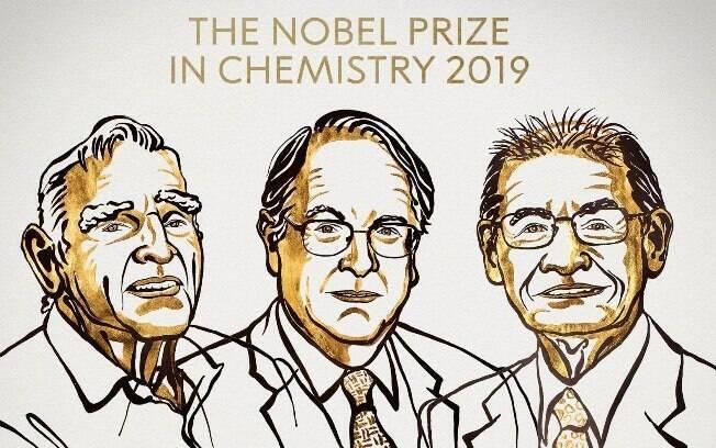 Trio ficou com o prêmio em 2019 após desenvolver bateria funcional de lítio