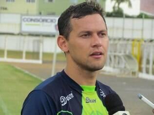 Luiz Eduardo é o artilheiro da Caldense com sete gols. Só está atrás de Damião, que fez 9