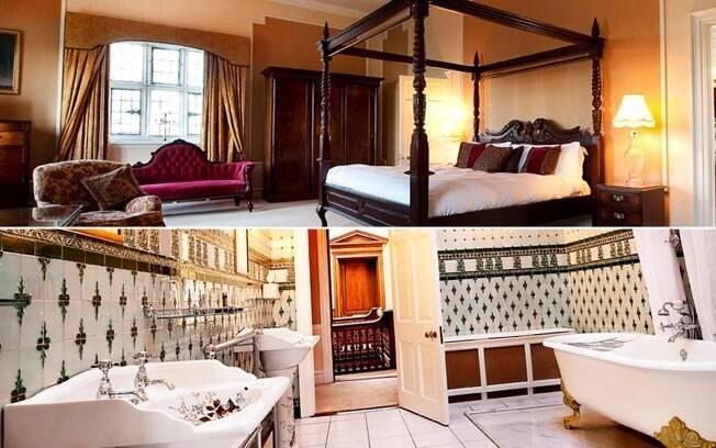 O Castelo Waterford fica em uma ilha privada e conta com resort dedicado especialmente a esportes