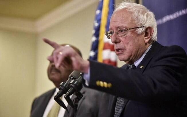 Senador e pré-candidato à presidência dos EUA Bernie Sanders pede liberdade para Lula e anulação da condenação