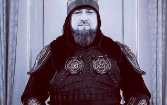 Líder da República da Chechênia é um dos mais polêmicos no mundo e sua conta do Instagram não fica