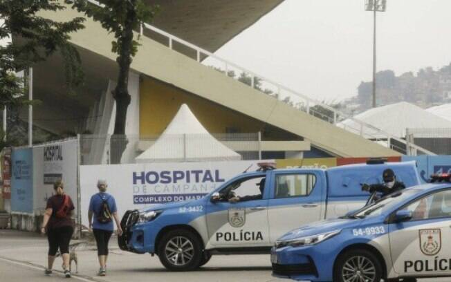 Operação Placebo investigou fraudes na montagem de hospitais de campanha no Rio.